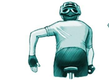 Señal de frenada o parada. Accidentes en bicicleta, Triviño Abogados.
